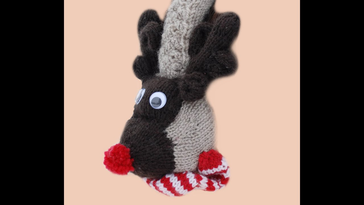 e02013ff456 HOW TO MAKE RUDOLPH CHRISTMAS EAR MUFFS - How to assemble my Rudolph Ear  Muffs