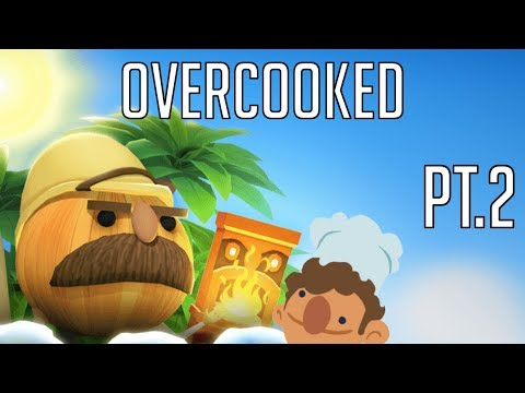 Overcucked Lost Morsel DLC Pt.2 (Overcooked) with the bro... again  