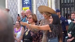 Willem Alexander en Máxima op staatsbezoek in Portugal