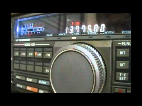The Voice of Russia world service in english (transmitter Vladivostok, Far East) - 13775 kHz