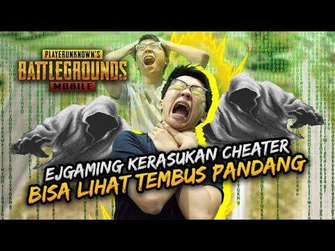 BISA LIHAT TEMBUS PANDANG! EJGAMING KERASUKAN CHEATER! - PUBG Mobile Indonesia