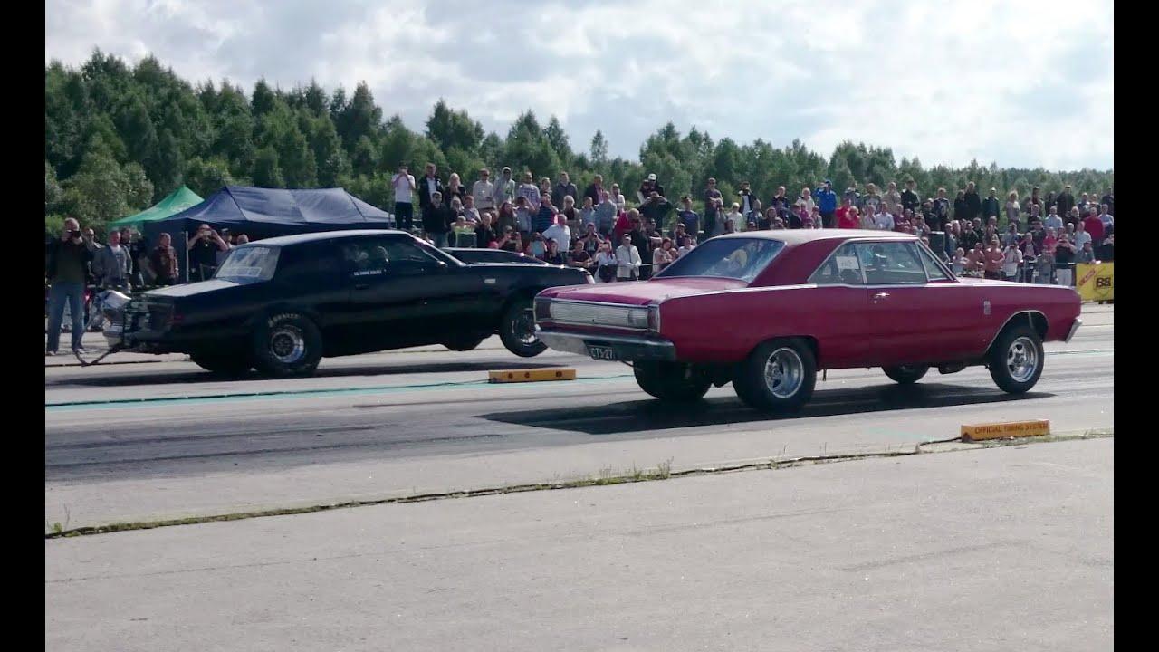 Blacklist '85 Buick GN vs '69 Dodge Dart GT 1/4mile drag race - YouTube
