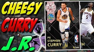 NBA 2K18 MYTEAM PINK DIAMOND STEPHEN CURRY & DIAMOND J.R. SMITH GAMEPLAY! #BREAKTHEGAME