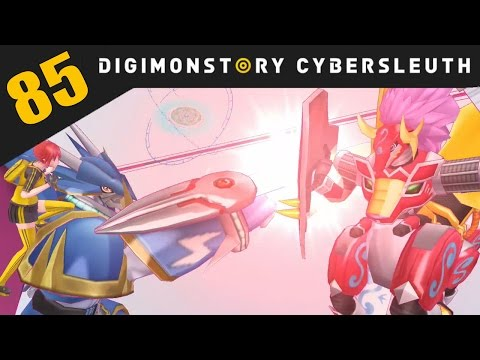 Digimon Story: Cyber Sleuth PS4 / PS Vita Let's Play Walkthrough Part 85 - Kentaurosmon Defeated!
