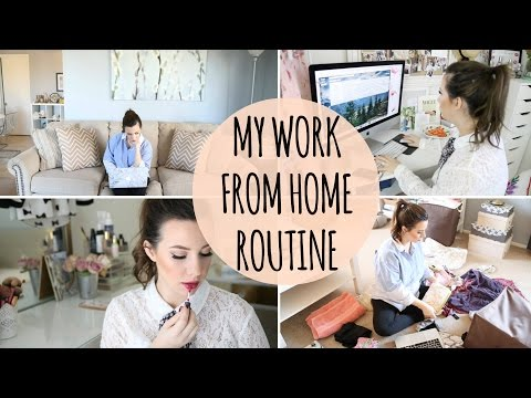 My Work From Home Routine: Tips & Daily Schedule   Hayley Paige