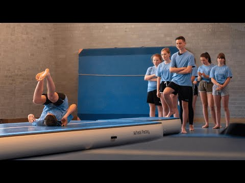Video: Sport-Thieme AirJump Set by AirTrack Factory