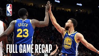 WARRIORS vs TRAIL BLAZERS  Golden State Comes Back Again  Game 3 video