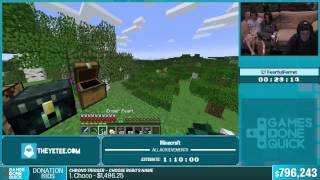 SGDQ 2015 - Minecraft All Achievements by Fearful Ferret