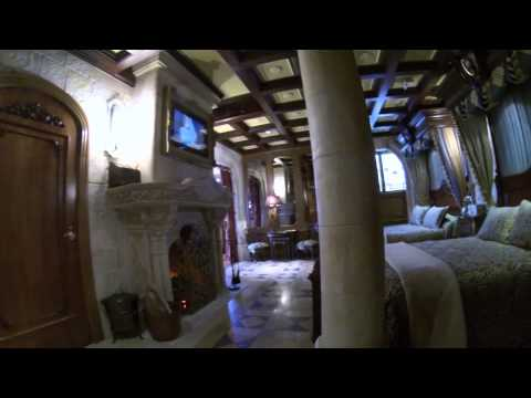 A full tour inside The Cinderella Castle Suite at Walt Disney World
