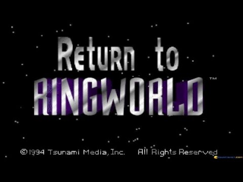 Return to Ringworld gameplay (PC Game, 1994)