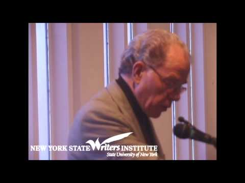 William Kennedy on Albany History at the NYS Writers Institute in 2002