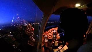 Piper PA32 Saratoga TC Landing VOR approach @ LIRP (Pisa San Giusto) for my IR Training