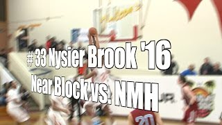 Nysier Brooks '16 Near Block vs. NMH, UA Holiday Classic, 12/29/15