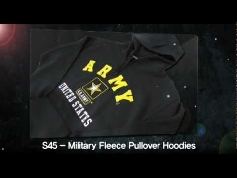 """Rapid Dominance"" S45 - Military Fleece Pullover Hoodies"