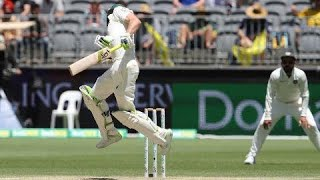 All Australia's second-innings wickets