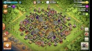 Présentation de mon village clash of clans 11