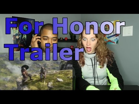 For Honor Trailer E3 2015 Official Trailer HD (Reaction 🔥)