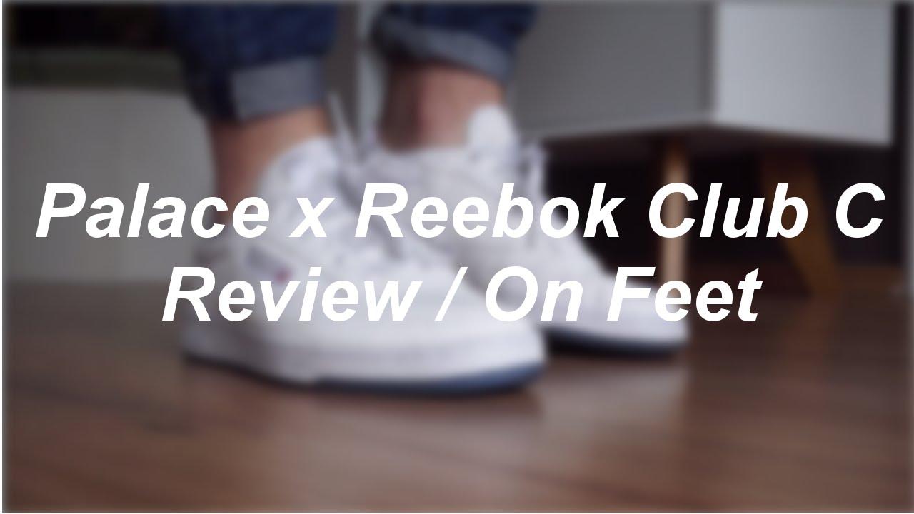 c732fb762efd ... Palace x Reebok Club C White ReviewOn Feet philliper ...
