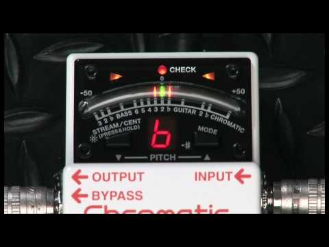 TU-3 Chromatic Tuner Overview