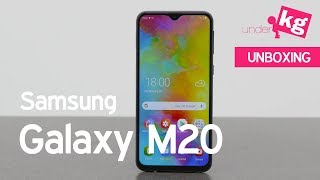5000mAh Battery for $155. Samsung Galaxy M20 Unboxing [4K]