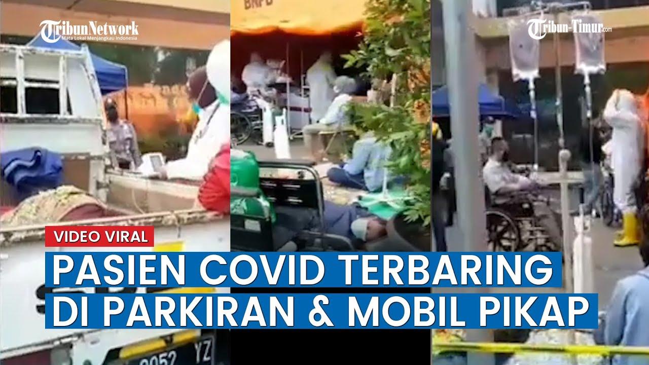 Viral Video Pasien Covid 19 Terbaring di Parkiran dan Mobil Pikap, Ini Penjelasan RSUD Kota Bekasi