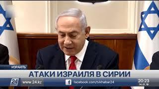 Израиль вновь атаковал цели на территории Сирии