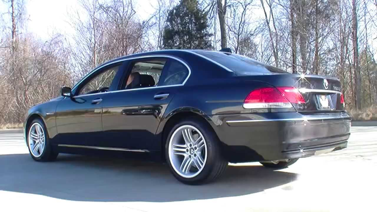 BMW Li YouTube - 760 bmw