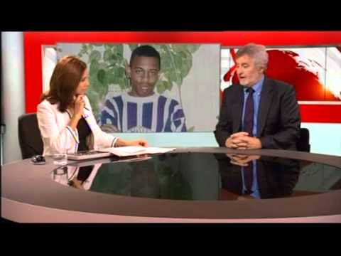 Police 'spied on' Stephen Lawrence family (BBC's London News)