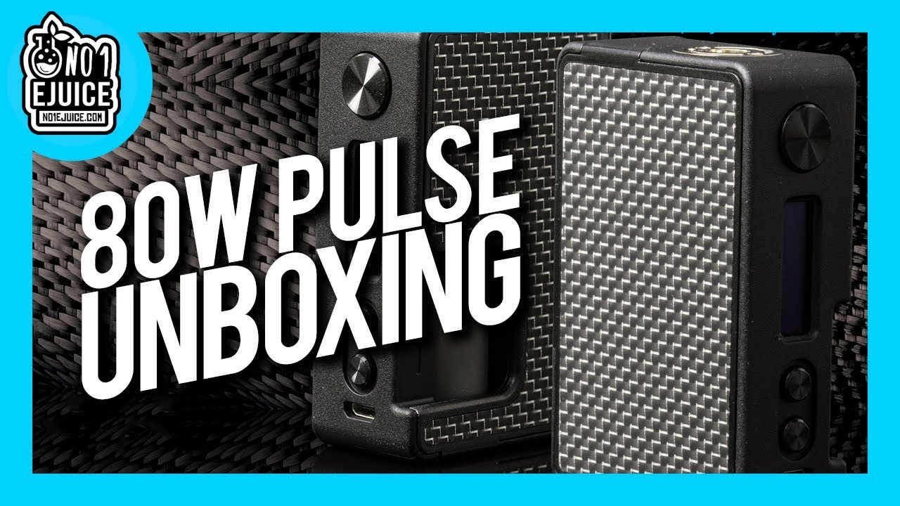 Unboxing - Pulse 80W BF Regulated Squonk Mod by Vandy Vape | NO 1 EJUICE UK