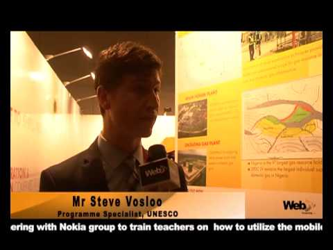 UNESCO partners Nokia to provide Mobile Technology skills for Nigerian Teachers - Mr Steve Vosloo