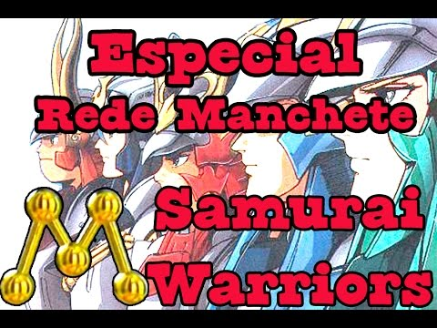 Buteco Nerd #10 - Especial Rede Manchete - Samurai Warriors