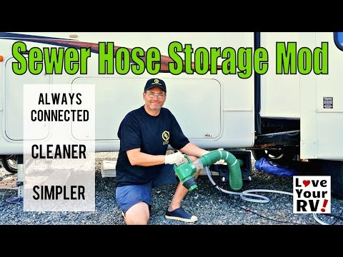 Waste Master RV Sewer System Storage Mod