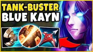 *NEW BLUE KAYN RUNES* HOW TO DESTROY EVERY GAME WITH BLUE KAYN - League of Legends