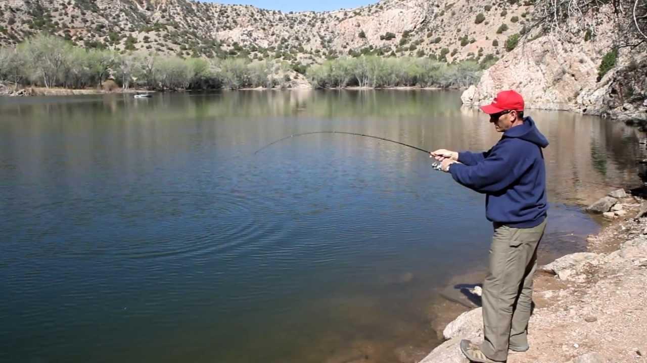 Santa cruz lake trout fishing youtube for Santa cruz fishing report