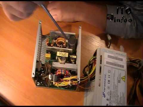 Ремонт блока питания FSP600-80GLN. Часть первая, теория.