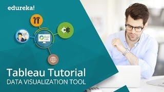 Tableau Tutorial For Beginners -1 | Tableau Training For Beginners | Tableau Certification | Edureka