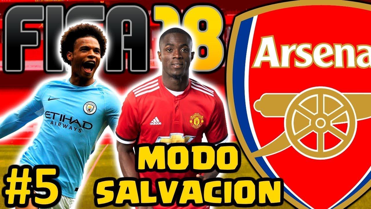 FIFA 18 Arsenal FC Modo Carrera #5   HAY QUE EQUILIBRAR LA PLANTILLA ...