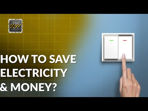 5 AMAZING Ways to Save Electricity at Home (High Electricity