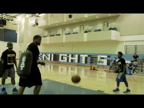 How To Finish At The Rim: Off Two Feet, Create Contact