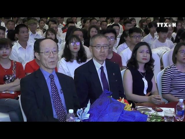 Du học nhật bản Hồng Nhung Group - lễ trao học bổng du học nhật bản tại Hà Nội