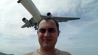 Пляж с самолётами на Пхукете. Пляж Май Кхао (Май Као). Реактивный пляж. Влог Пхукет