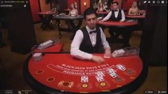 Live Blackjack $ 100 - 5.000 @ Codeta Casino