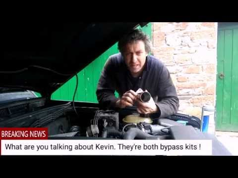 Land Rover Discovery 2 TD5 - EGR Valve Removal and Blanking Kit Fitting