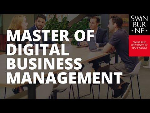 Master of Digital Business Management