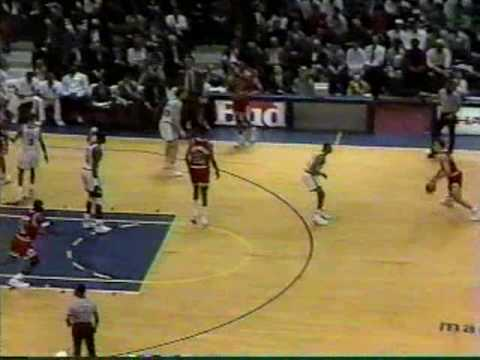 Michael Jordan 1991: 34 Pts Vs Knicks @ MSG