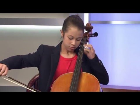 Rachel Broweleit, Harker Cellist Extraordinaire, on NBC's Asian Pacific America Show