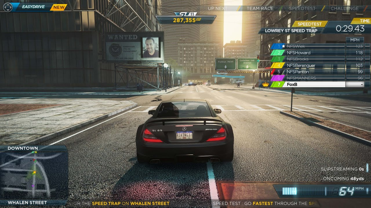 Need For Speed Most Wanted Serie De Gameplay 2 Le Mode