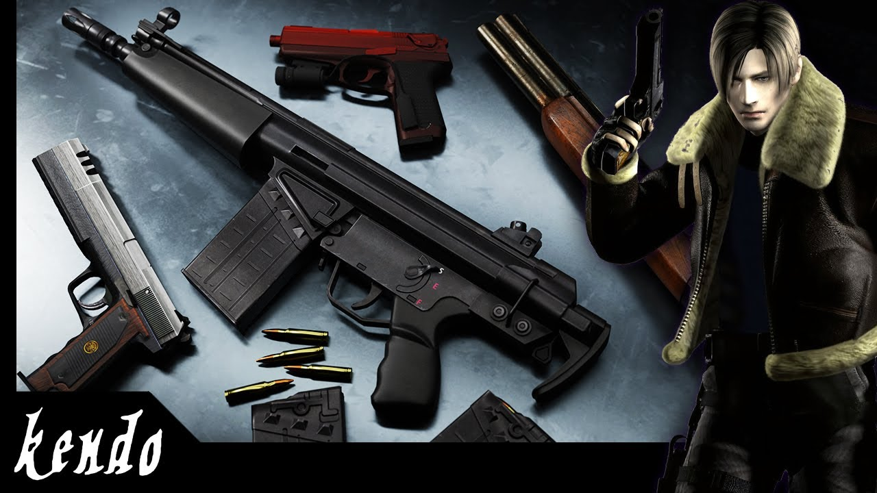 10 MORE Guns that were CUT from Resident Evil