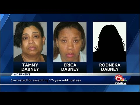 (Update) 3 Self-Haterz Arrested 4 The Assault Of 17-Year-Old Chilli's Hostess