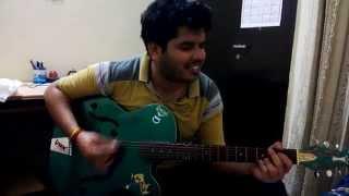 OOO.. Mere Dil ke Chain guitar chord by Aakansh Sharma